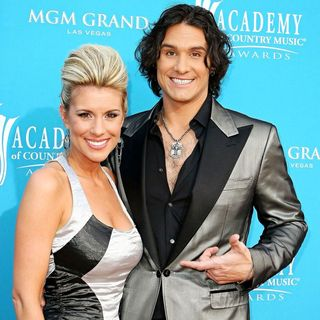 Heather Nichols, Joe Nichols in The 45th Annual Academy of Country Music Awards
