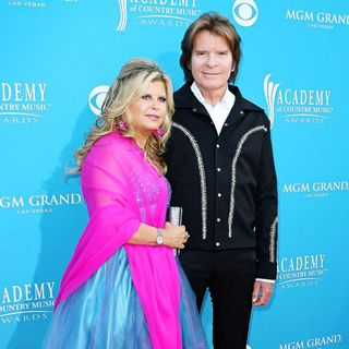 Julie Lebiedzinski, John Fogerty in The 45th Annual Academy of Country Music Awards