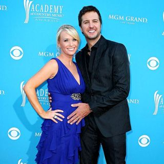 Caroline Bryan, Luke Bryan in The 45th Annual Academy of Country Music Awards