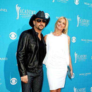 Tim McGraw, Faith Hill in The 45th Annual Academy of Country Music Awards