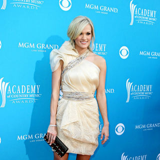 Carrie Underwood in The 45th Annual Academy of Country Music Awards