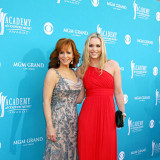 Reba McEntire, Lindsey Vonn in The 45th Annual Academy of Country Music Awards
