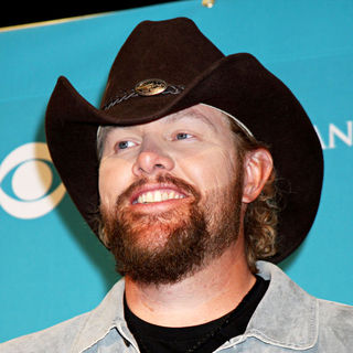Toby Keith in The 45th Annual Academy of Country Music Awards - Press Room