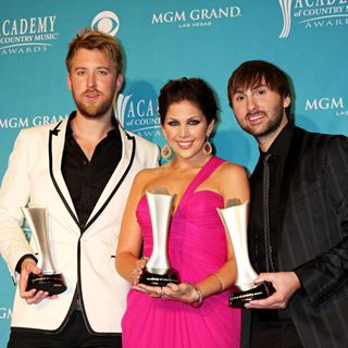 Lady Antebellum in The 45th Annual Academy of Country Music Awards - Press Room