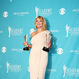 Miranda Lambert in The 45th Annual Academy of Country Music Awards - Press Room