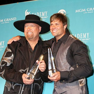 Montgomery Gentry in The 45th Annual Academy of Country Music Awards - Press Room