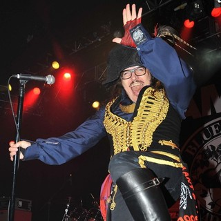 Adam Ant in Adam Ant Performing Live on Stage