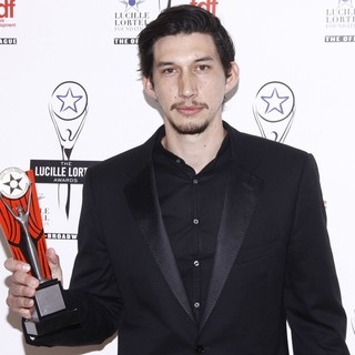 Adam Driver in The 2012 Lucille Lortel Awards - Press Room