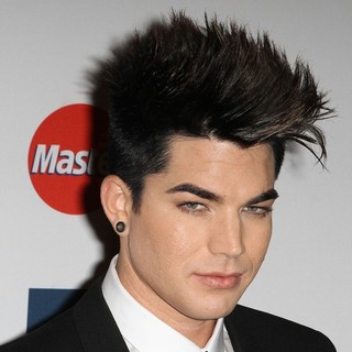 Adam Lambert in Clive Davis And The Recording Academy's 2012 Pre-GRAMMY Gala