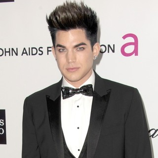 Adam Lambert in The 20th Annual Elton John AIDS Foundation's Oscar Viewing Party - Arrivals