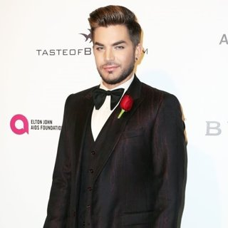Adam Lambert-25th Annual Elton John AIDS Foundation's Academy Awards Viewing Party