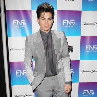 Adam Lambert in Friends N Family 2013 Pre Grammy Party