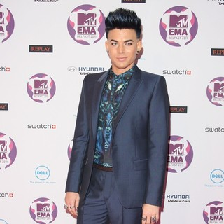 Adam Lambert in The MTV Europe Music Awards 2011 (EMAs) - Arrivals