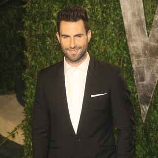 Adam Levine, Maroon 5 in 2012 Vanity Fair Oscar Party - Arrivals