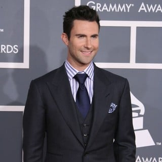 Adam Levine, Maroon 5 in 54th Annual GRAMMY Awards - Arrivals