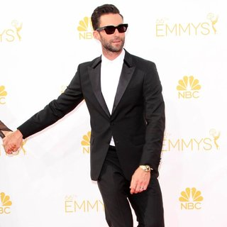 Adam Levine, Maroon 5 in 66th Primetime Emmy Awards - Arrivals