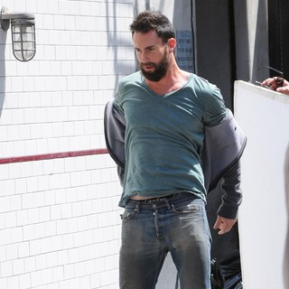 Adam Levine, Maroon 5 in Can a Song Save Your Life? Filming on Location