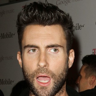 Maroon 5 - Celebrity Magenta Carpet Arrivals at The Launch Party for Google Music Available on T-Mobile