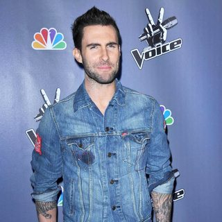 Adam Levine in NBC Press Junket for The Voice