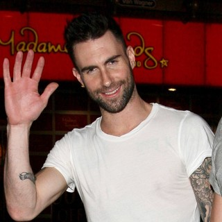 Adam Levine in On The Set of Maroon 5's Music Video Never Gonna Leave This Bed