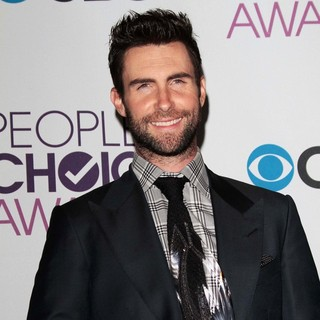 Adam Levine, Maroon 5 in People's Choice Awards 2013 - Press Room