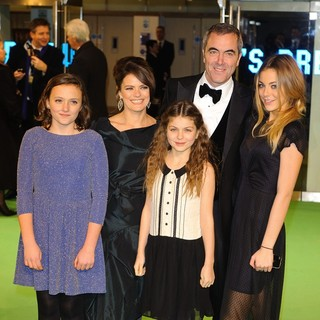 Sonia Forbes-Adam, James Nesbitt in The Hobbit: An Unexpected Journey - UK Premiere - Arrivals