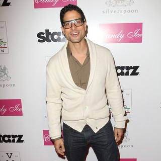 Adam Rodriguez in Visual Impact Now Charity Event