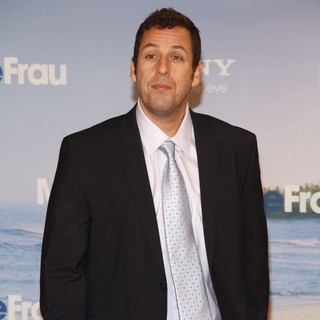 Adam Sandler in The German Premiere of Just Go with It