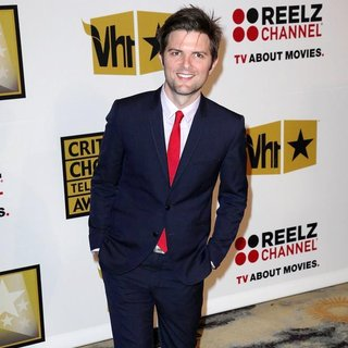 Adam Scott in The 2011 Critics Choice Television Awards Luncheon - Red Carpet