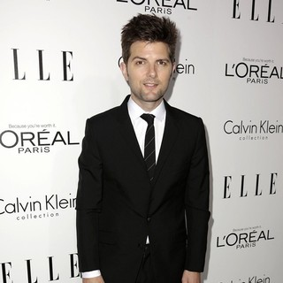 Adam Scott in ELLE 20th Annual Women in Hollywood Celebration
