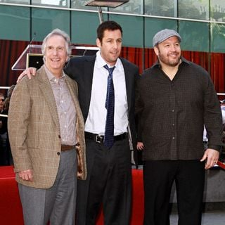 Kevin James in Adam Sandler Is Honored on The Hollywood Walk of Fame and Receives His Star - adam_sandler_star_030_wenn5601978