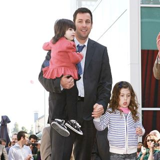 Adam Sandler - Adam Sandler Is Honored on The Hollywood Walk of Fame and Receives His Star
