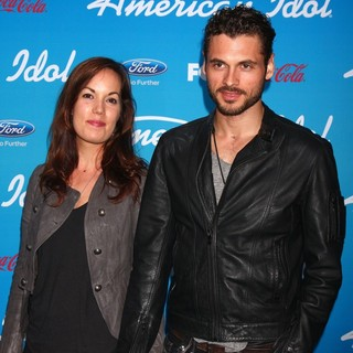 Adan Canto in FOX's American Idol Finalists Party