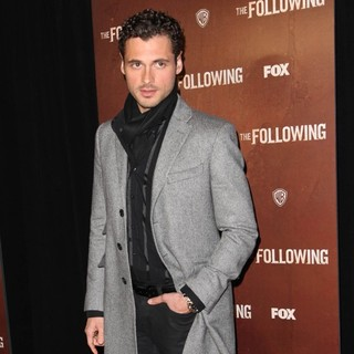 Adan Canto in The New York Premiere of The Following - Arrivals