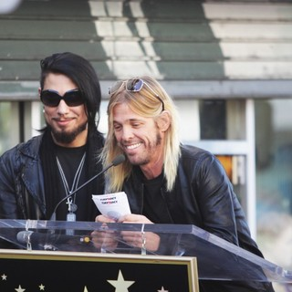 Perry Farrell, Dave Navarro, Taylor Hawkins, Chris Chaney, Jane's Addiction in Ceremony Honoring Jane's Addiction with A Star on The Hollywood Walk of Fame
