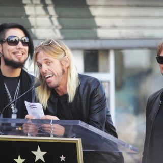 Dave Navarro, Taylor Hawkins, Chris Chaney, Jane's Addiction in Ceremony Honoring Jane's Addiction with A Star on The Hollywood Walk of Fame