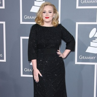 Adele in 54th Annual GRAMMY Awards - Arrivals