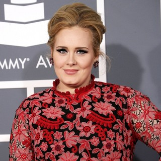 Adele in 55th Annual GRAMMY Awards - Arrivals