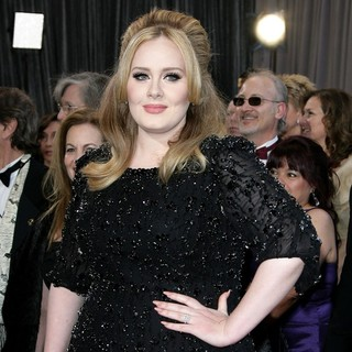 Adele in The 85th Annual Oscars - Red Carpet Arrivals