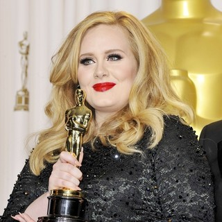 Adele in The 85th Annual Oscars - Press Room
