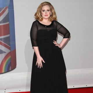 Adele in The BRIT Awards 2012 - Arrivals