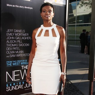 Adina Porter in HBO's The Newsroom Los Angeles Premiere