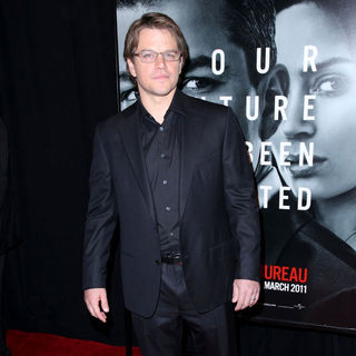 Matt Damon in New York Premiere of 'The Adjustment Bureau'