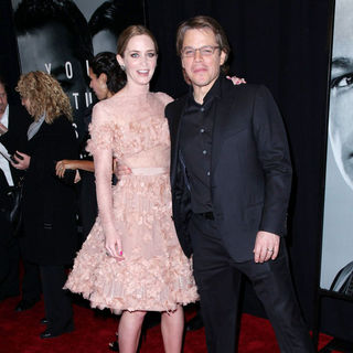 Emily Blunt, Matt Damon in New York Premiere of 'The Adjustment Bureau'