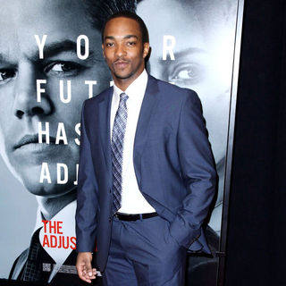 Anthony Mackie in New York Premiere of 'The Adjustment Bureau'
