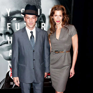 David Alan Basche, Alysia Reiner in New York Premiere of 'The Adjustment Bureau'