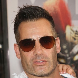 Adrian Pasdar in Los Angeles Premiere of Real Steel