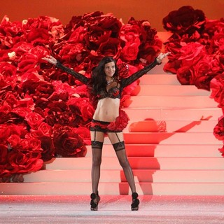 Adriana Lima in 2011 Victoria's Secret Fashion Show - Runway