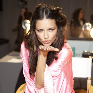 Adriana Lima in 2012 Victoria's Secret Fashion Show - Backstage - adriana-lima-2012-victoria-s-secret-fashion-show-backstage-03