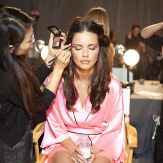 Adriana Lima in 2012 Victoria's Secret Fashion Show - Backstage